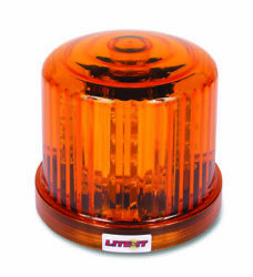 Custer Products Hf20rl Magnetic Led Amber Strobe Light Beacon Warning Wireless