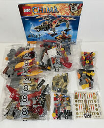 Lego Incomplete Set Legends Of Chima 70227 King Crominus Rescue Set W/booklet