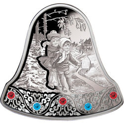 Christmas Bell 2013 Proof Silver Coin 2 Niue 2013