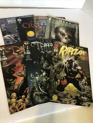 Lot Of 7 Comic Books Image Top Cow Comics The Darkness Ripclaw Hell Spawn