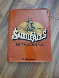 Saddle Aces Of The Cinema By Buck Rainey-1980-1st Edition/hc Signed