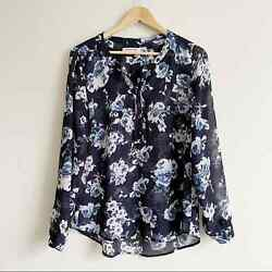 Marie Philippe Floral Top Size M $10.00