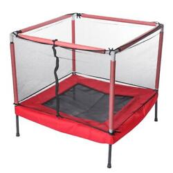 40x40 Inch Jumping Trampoline Child Anti-fall Safety Indoor Playground Safety Ju