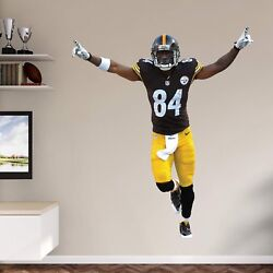 Antonio Brown Fathead Steelers Victory Pose Retired Real Big Lifesize Only
