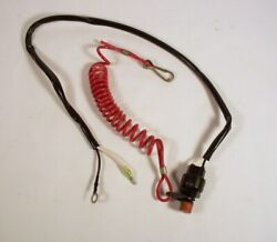 Yamaha 6 - 40 Hp Outboard Stop Switch Assembly 6e9-82575-02-00 1985 - 1997