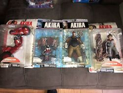 Mcfarlane Toys Series 1 And 2 Of Akira And Tenchi Muyo Mixed Lot Of 6 Figures.