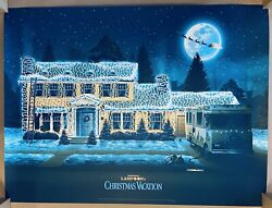 220/275 Dkng Bng Screen Print Movie Poster National Lampoonand039s Christmas Vacation