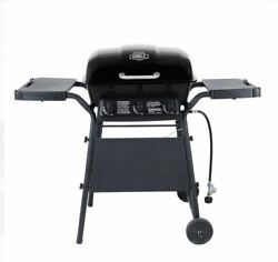 3 Burner Propane Gas Bbq Grill Side Shelves Outdoor Barbecue Cooking 27000 Btu