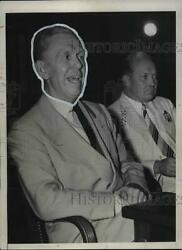 1941 Press Photo Army Chief Of Staff General George Marshall In Testimony