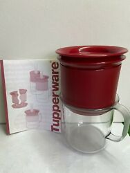 Tupperware Coffee Dripper Swiss Gold Filter With Cup And Cover Indevidual