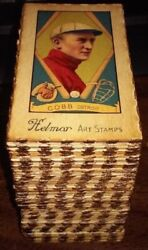 412 Different Helmar Stamp Cards Babe Ruth Ty Cobb Honus Wagner Lou Gehrig Ott