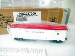 Lionel Limited Prod.- 52287 Ttos Operating Missile Launch Car - 0/027- New- Hb1