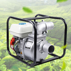 7.5hp 4-stroke Gas Powered Portable Water Transfer Pump Irrigation 60m3/h 3.6l