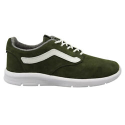 Lxvi Off The Wall Iso 1.5 Denim Green Suede Lace Up Unisex Trainers Xb8jbd