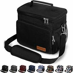 Insulated Lunch Box For Office Work School Picnic Beach Cooler Tote Bag Reusable $23.74