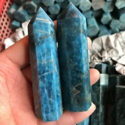2.2lb Blue Apatite Healing Point Wand Tower Generator Natural Crystal Reiki 1kg