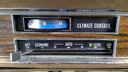 77-79 Cadillac Sedan Deville Oem Heater/climate Control Assembly Tested Oem
