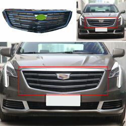 For 2018-2020 Cadillac Xts Abs Black Car Front Center Grille Grill Cover Trim