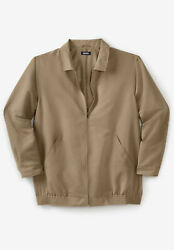 Kingsize Menand039s Big And Tall Classic Water-resistant Bomber