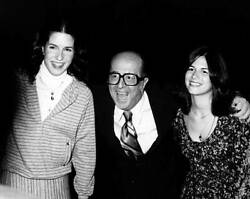 Actor Phil Silvers Attends 50th Anniversary Party For Cbs 1978 Tv Old Photo