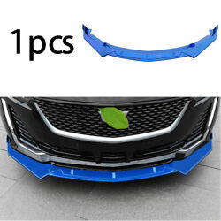 Front Bumper Lip Spoiler Bodykit Refit Abs Blue Fit For Cadillac Ct5 2019-2020