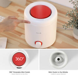2500l Top Fill Cool Mist Humidifier Diffuser 2 In 1 360° Rotatable Mist Outlet