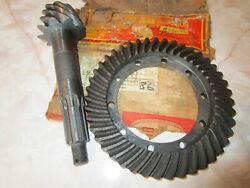 Nos Ring And Pinion Gear 1937 38 39 40 41 42 47 Plymouth And Dodge Truck 1/2 Ton, Wc