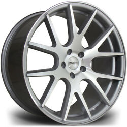 Alloy Wheels Wider Rears 20 Riviera Rv185 For Merc S-class S65 Amg W221 06-13