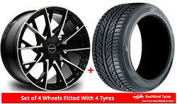Alloy Wheels And Tyres 18 Riviera Rv197 For Honda Pilot [mk2] 09-15