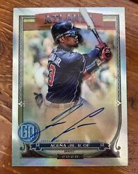 2020 Topps Gypsy Queen Chrome Ronald Acuna Jr Auto D 25/25 Ebay 1 Of 1