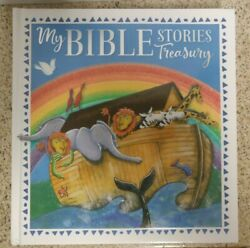 My Bible Stories Treasury - Hardcover Book 255 Pages New Free Shipping