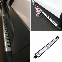 Side Step Running Board Nerf Bar Protect Aluminum Chrome For Cadillac Xt4 18-20