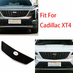 Sport Style Front Center Mesh Grille Grill Cover Trim For Cadillac Xt4 2018-2020