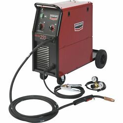 Century By Lincoln Electric 255 Flux-cored/mig Wire Feed Welder - 230 Volts,