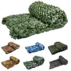 Camo Net Military Travel Picnic Camouflage Netting Various Sizes And Colors New