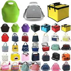 Thermal Insulated Cooler Bag Tote School Lunch Box Food Drink Picnic Storage Bag $9.02
