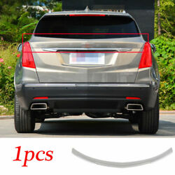 Fit For Cadillac Xt5 2016-2020 Abs Mocha Trunk Middle Spoiler Wing Flap Refit