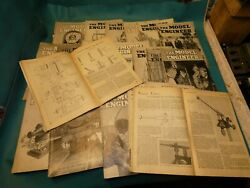 18 Model Engineering Magazines From 1950 1960 Lister Engines Live Steam Models