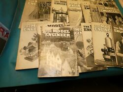 2nd Lot Of 18 Model Engineer Magazines1950 1960 Lister Engines Live Steam Models