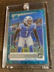 Jeff Okudah Optic Teal Velocity Ssp Rare Lions