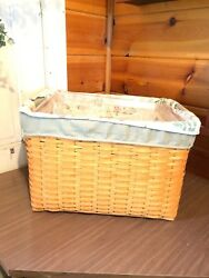 Longaberger 2000 Personal File Basket Pair Combo Basket Stand Prot And 3 Liners