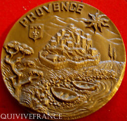 Med3685 - Medal The Provence By Singla - French Medal