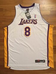 Bnwt Authentic Nike Los Angeles Lakers Kobe Bryant Sunday Home Jersey 56