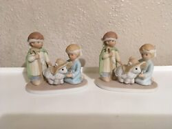 Circle Of Friends Holy Little Nativity Set Pair Home Interiors And Gifts 🎁 New