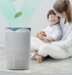Room Air Purifier Cleaner Hepa Filter Remove Odor Dust Mold Home Allergies