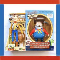 Super Toy Story Roundup Woody Prospector Pvc Figure
