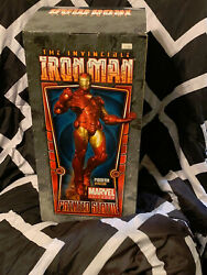 The Invincible Ironman Marvel Universe Painted Statue Modern Version