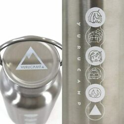 Laid-back Camp Yuru Camp Vacuum Insulated Stainless Steel Drink Bottle Fast Ship