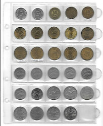 Tunisia 5 Millim - 1 Dinar 1960-2011 Beautiful Collection Of 29 Coins. 1y.5
