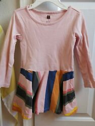Tea Collection Toddler Girl Dress Pale Pink Sz3t
